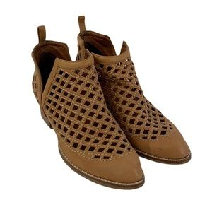 Jeffrey Campbell Taggart Open Weave Booties